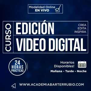 CURSO DE EDICIÓN DE VIDEO PROFESIONAL