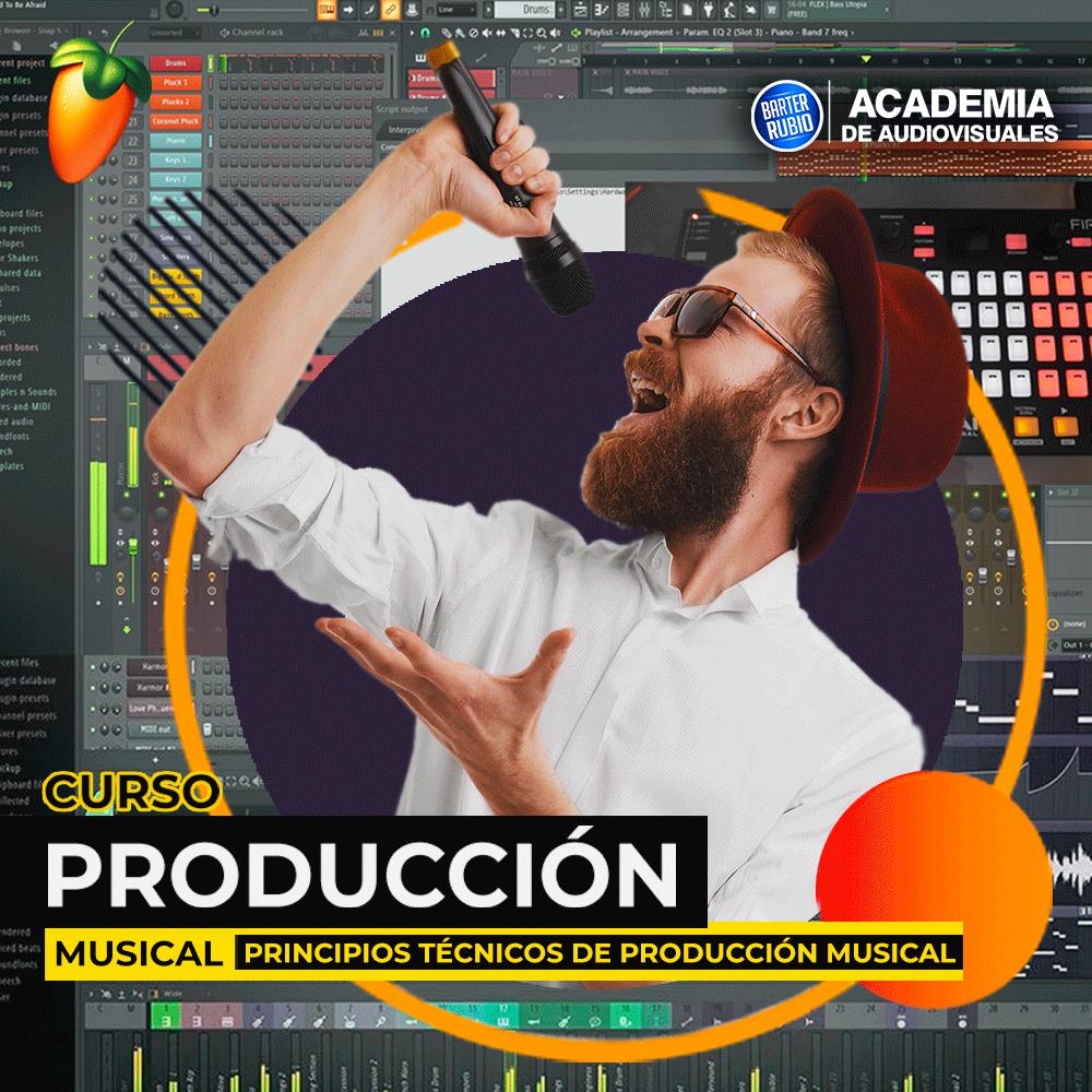 Cursos de Principios Técnicos de Producción Musical