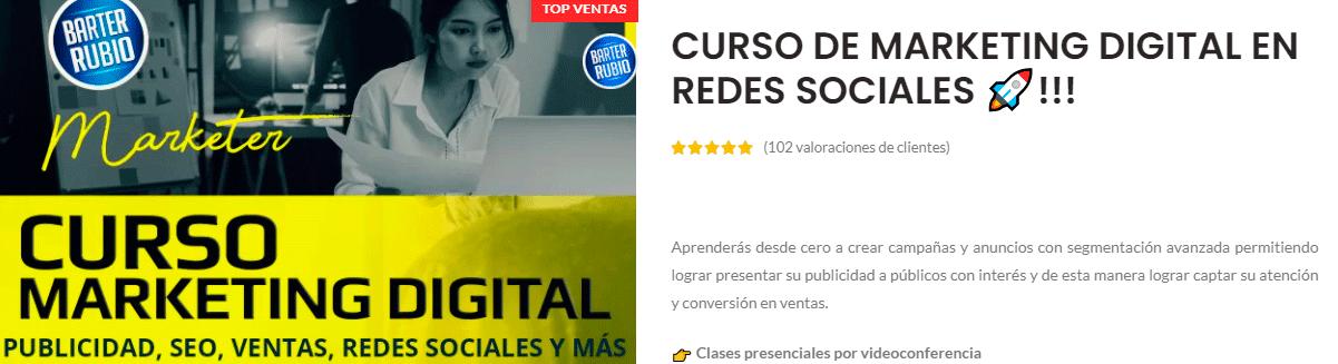 Curso Online de marketing digital 2021