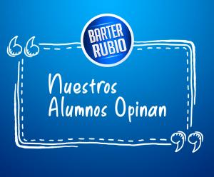 Lo que dicen los alumnos de Barter Rubio