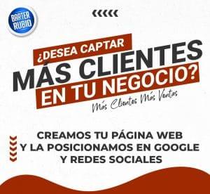 Creacion y Diseño de Paginas Web y Tiendas Online